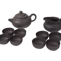набор из посуды глины