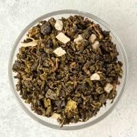100% китайский чай улун и кусочки ананаса