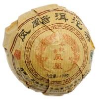 100% китайский чай пуэр