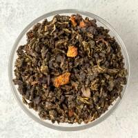 100% китайский чай улун с кусочками клубники
