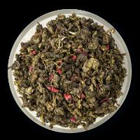 100% китайский чай улун, ягоды малины, ароматизатор Малина.